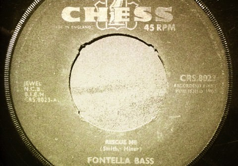 Fontella Bass Rescue Me ноты для бас гитары