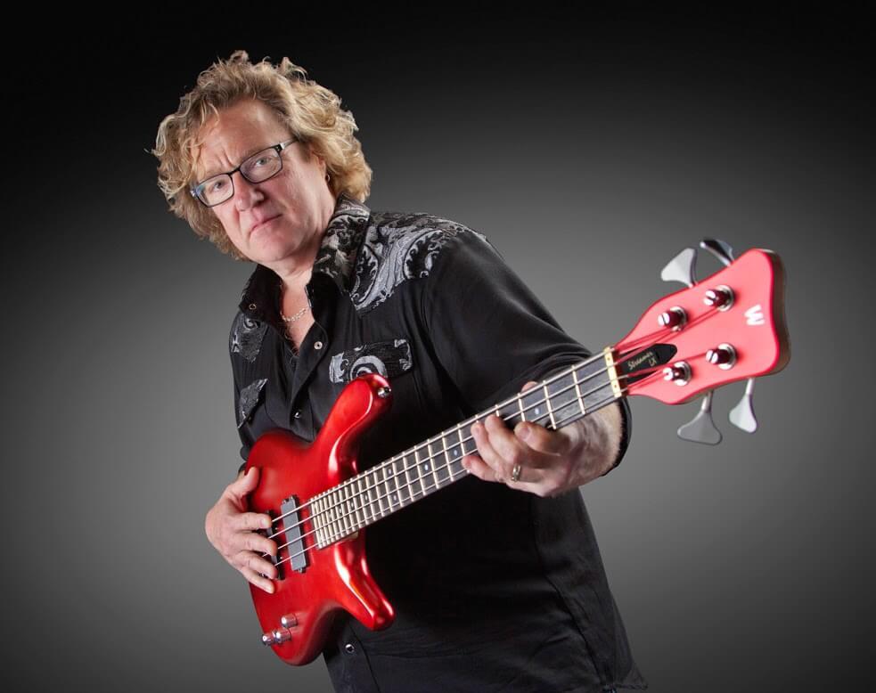 Stu Hamm и бас гитара
