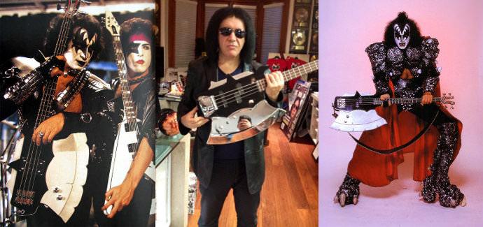 Легендарный Gene Simmons Axe Bass